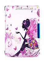 Обложка - чехол для электронной книги PocketBook 614/615/624/625/626/Touch Lux 3 с графикой Фея, фото 1