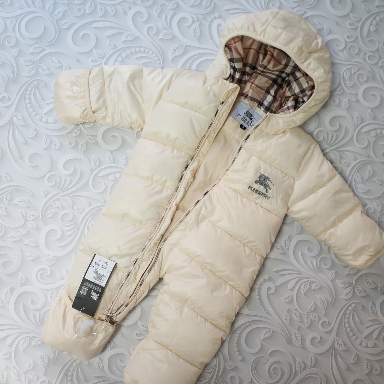 Зимний детский комбинезон Burberry 0-6 мес, цена 1 600 грн., купить ... 4428a73bd53