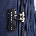 Средний колесный чемодан Wings 1706-24-4 синий, 75 л, фото 4