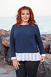 Модная женская блузка  в размерах 42-56, фото 4