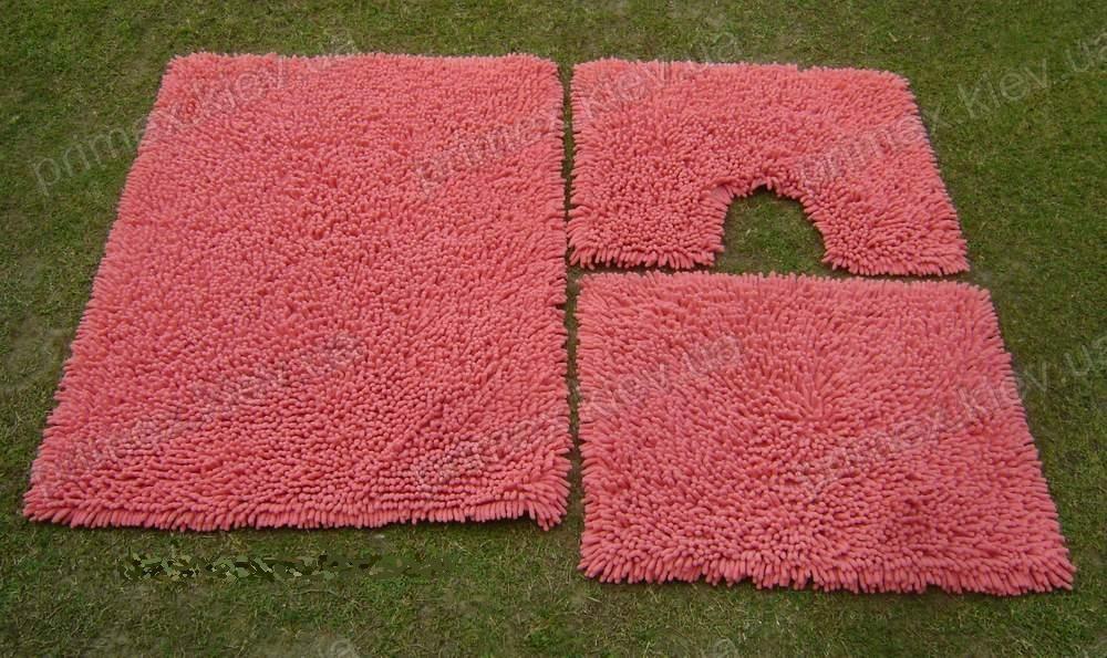Коврик для ванной хлопковый, 120*180см. цвет розовый. Коврик для ванной купить