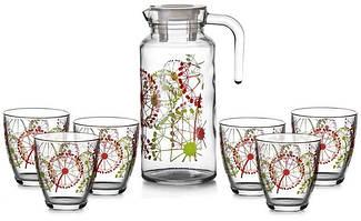 Наборы для сока и воды, кувшины, графины
