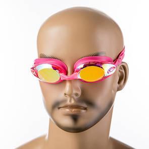 Окуляри для плавання Dolvor 8013 рожевий