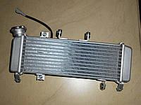 Радиатор жидкости с вентилятором    Jianshe-Yamaha JS150-31