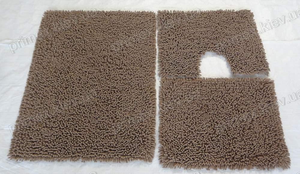 Коврик для ванной хлопковый, 70*100см. цвет светло-коричневый. Коврик для ванной купить