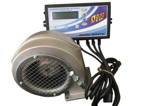 Комплект регулятор температуры MPT Air auto + Турбина