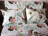 Комплект постельного белья Камиса двуспальный Евро Бязь