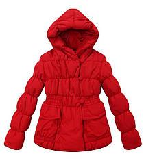 Красная демисезонная куртка с карманами (Размер  5-6Т) Richie House (США)