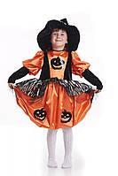 Ведьмочка тыква карнавальный костюм для девочки
