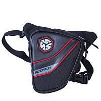 SCOYCO MB14 (23x25x3см), Black, Мото сумка набедренная водонепроницаемая, фото 1