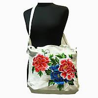Женская сумка Вышитые цветы
