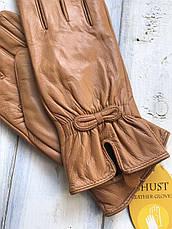 Женские кожаные перчатки Маленькие  4-813s1, фото 3