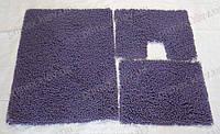 Коврик для ванной хлопковый, 70*100см. цвет сиреневый. Набор ковриков для ванной
