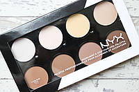 Палетка для контурирования NYX Professional Makeup Highlight & Contour Pro Palette  (реплика)