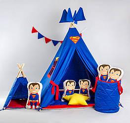 Вигвам в наборе «Серия Супергероев - Супермен»