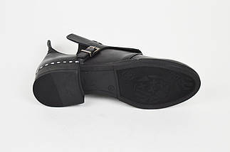 Туфли кожаные casual Aquamarin 274, фото 3