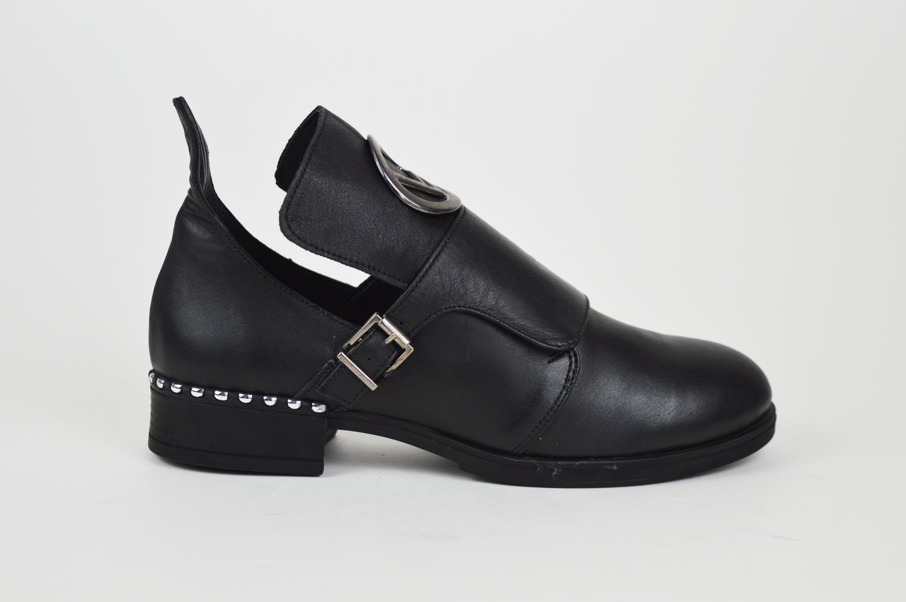Туфли кожаные casual Aquamarin 274