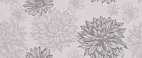 20x50 Керамічна плитка Osaka Flower сіра стіна