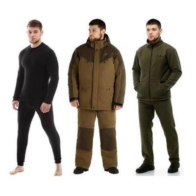 Термобелье и одежда для рыбалки и охоты