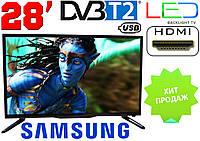 """Телевизор 28"""" Samsung LED! FullHD,T2, USB. Распродажа!"""