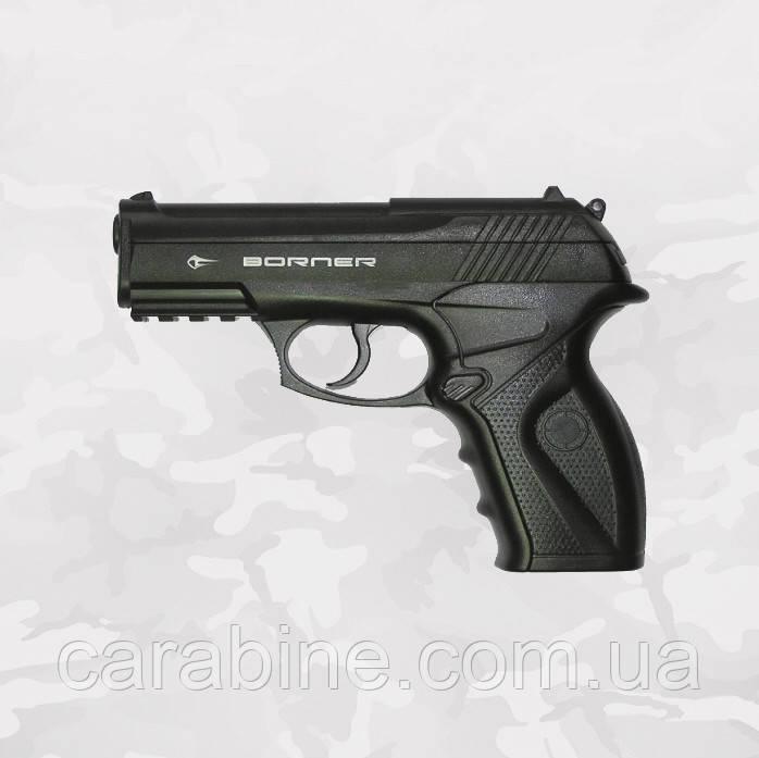Пневматический пистолет Borner C11 газобаллонный CO2