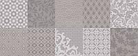 20x50 Керамическая плитка Osaka Pattern стена серая, фото 1