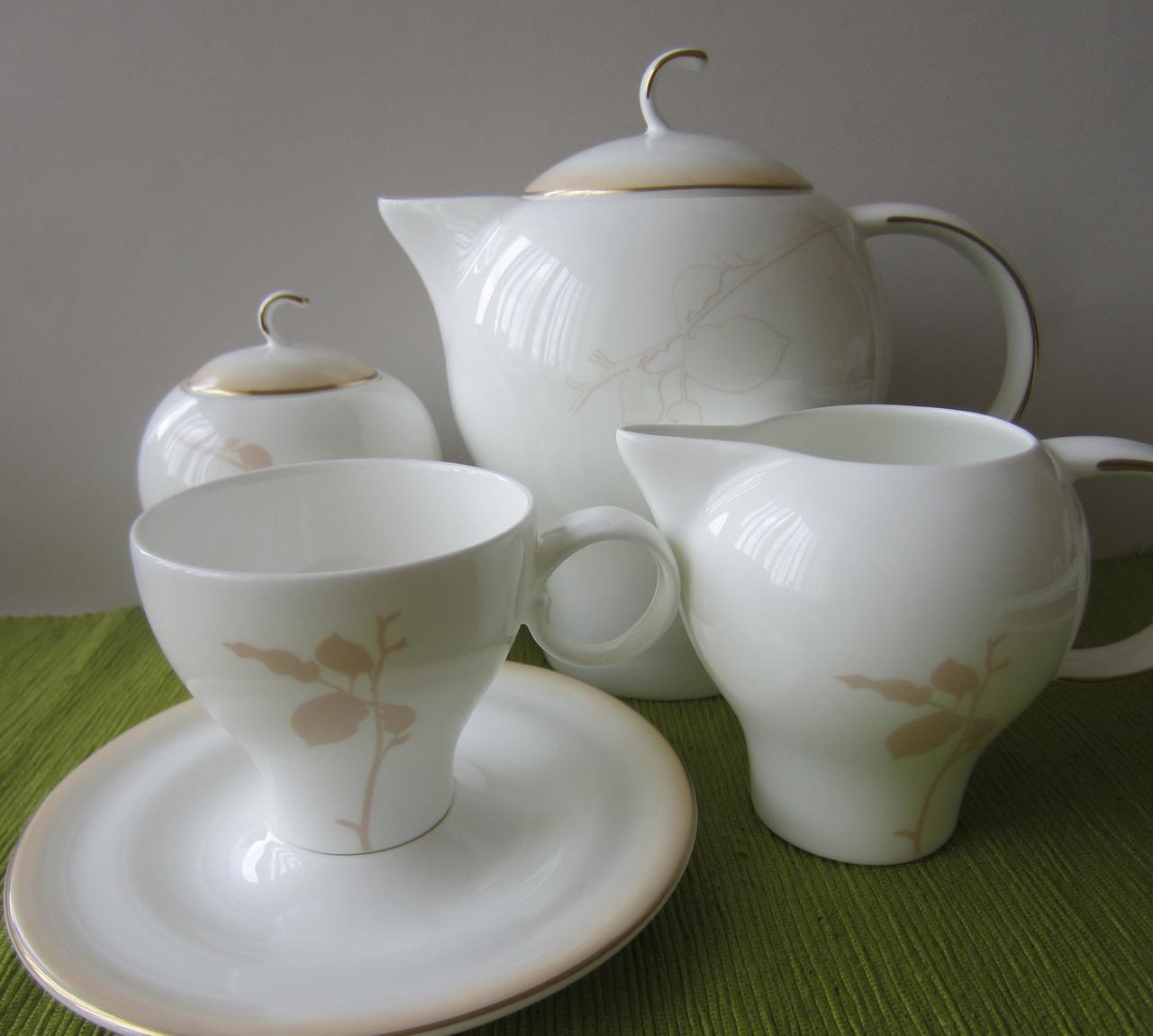 Сервиз чайный на 12 персон Aqua Айвори