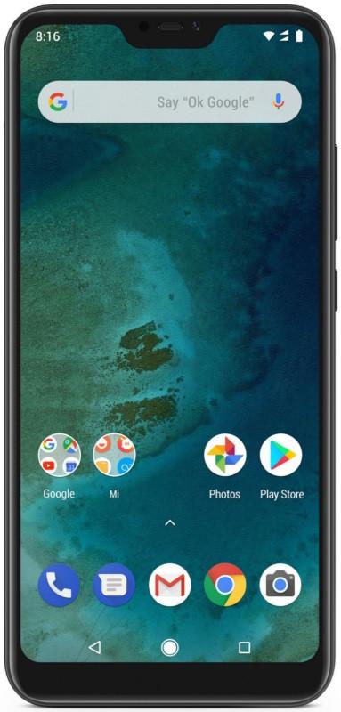 Смартфон Xiaomi Mi A2 Lite 3/32 Black (Global Version)