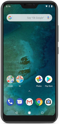 Смартфон Xiaomi Mi A2 Lite 3/32 Black (Global Version), фото 2