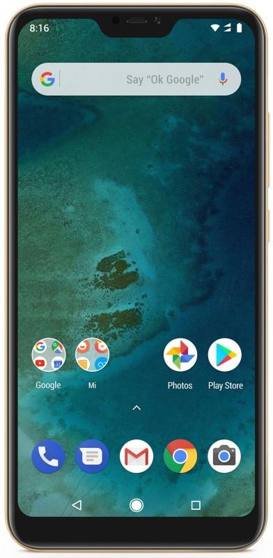 Смартфон Xiaomi Mi A2 Lite 4/64 Gold (Global Version)