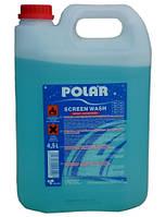 Стеклоомыватель концентрат SCREEN WASH POLAR 4,5 литра