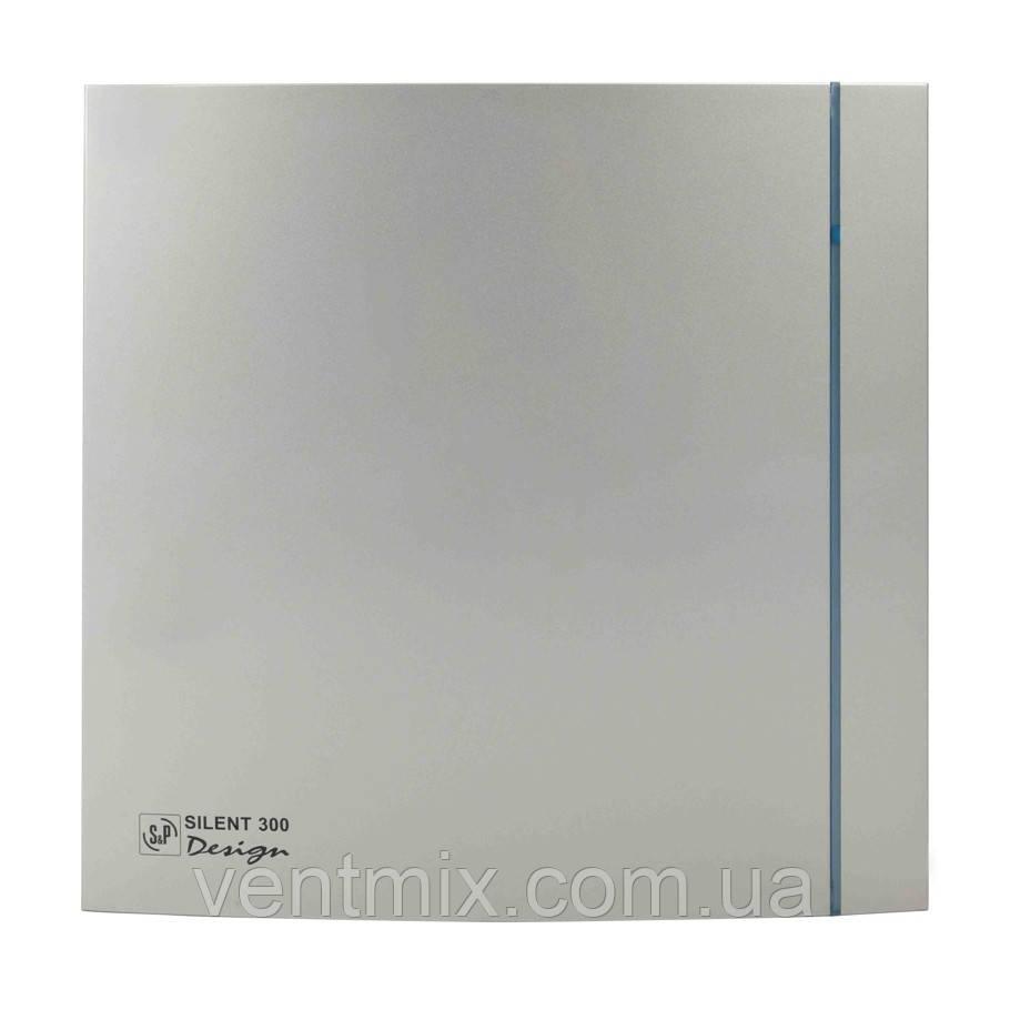 Вентилятор вытяжной 300 CZ Silver Design-3C (S&P)