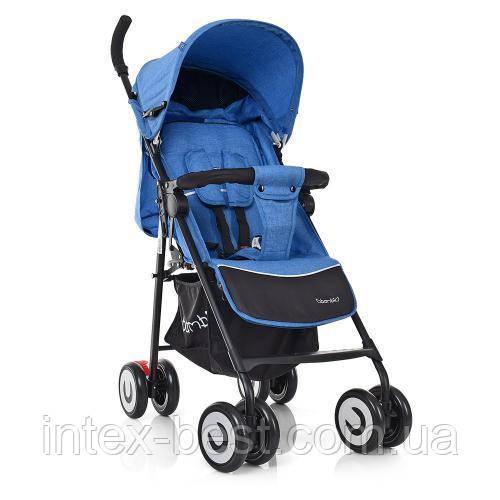 Прогулочная коляска Bambi M 3458-2-12 Голубой