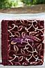 Комплект полуторный, гобелен ковровый 140х200. Листва осени бордо