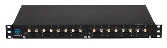 GSM-шлюз на 16 сим-карт в стоечном корпусе UC2000-VF