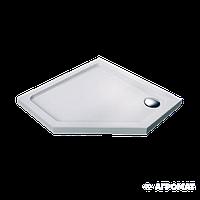 Піддон Devit Comfort FTR0223 п'ятикутний 100х100 см, фото 1