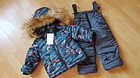 Костюм зимний детский, куртка и комбинезон, фото 1