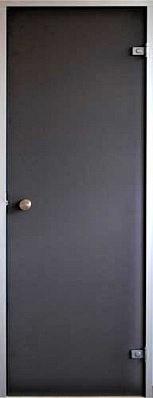 Стеклянная дверь для хамама Classic прозрачная бронза 70/200 (алюминий)