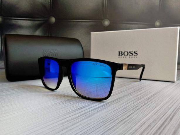 5a18f1ab4b8b Новые Мужские Очки Hugo Boss Качественные Очки Хуго Босс Мужские Синие Очки