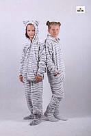 Детский махровый костюм с ушками домашний р. 36-42, фото 1