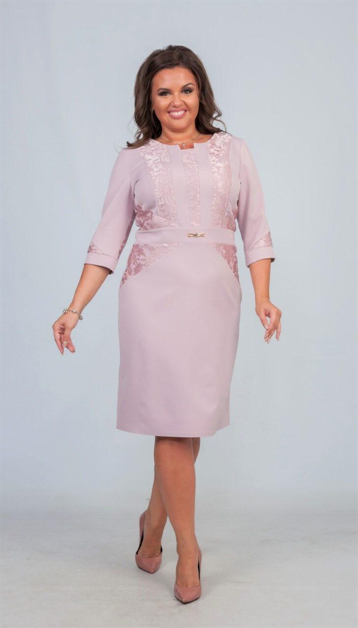 """Элегантное женское с цветочной вышивкой """"Костюмная ткань"""" 48, 50, 56 размер батал"""