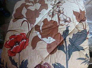 Теплое двухсторонее шерстяное одеяло полуторное , фото 3
