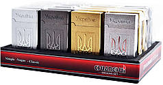 Зажигалка карманная Украина (турбо пламя) №4519