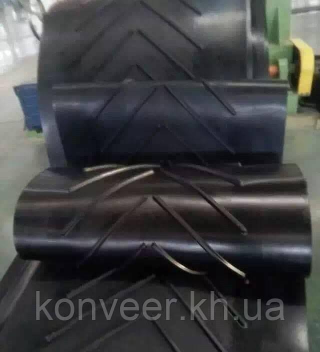 Конвейерные шевронные ленты 800-3-3/1   С-15