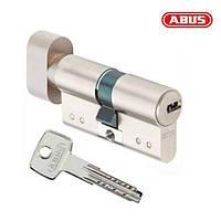 Цилиндр ABUS KD15 80 мм (40х40Т) ключ - вороток, никель матовый