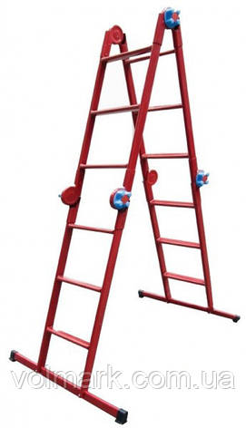 Технолог Лестница шарнирная «Трансформер» 4х3, фото 2