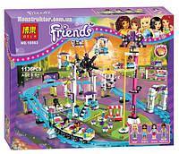 """Конструктор Bela 10563 """"Парк развлечений: американские горки"""" Френдс, 1136 деталей. Аналог LEGO Friends 41130, фото 1"""