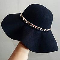 Шляпа фетровая женская осень/весна new
