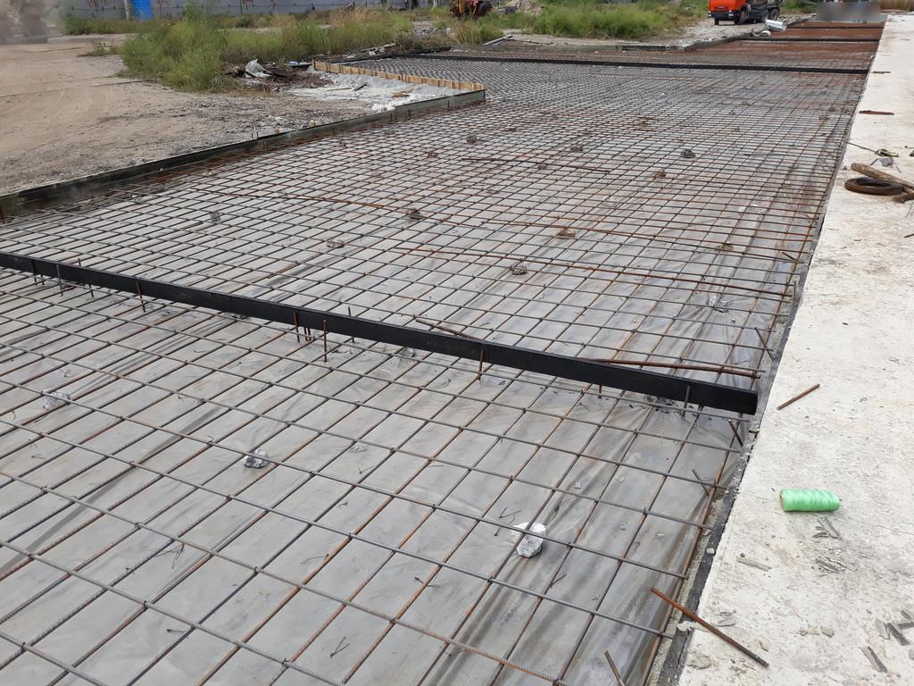 Все подготовительные работы выполнены, осталось принять бетонную смесь.