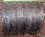 """Палантин """"""""Класична хвиля"""""""" П-00063, сірий-білий , оренбурзький шарф (палантин), фото 2"""
